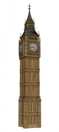 3D Modell von Big Ben (London)